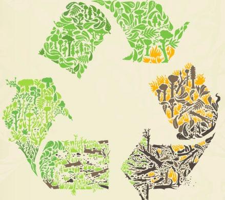 Estampa de meio-ambiente, natureza, presenvação e animais. (25)