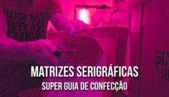 Processo para confecção de matrizes serigráficas