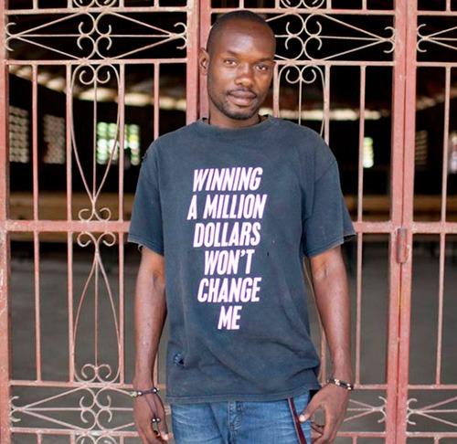 """""""Ganhar 1 Milhão não vai me fazer mudar."""""""