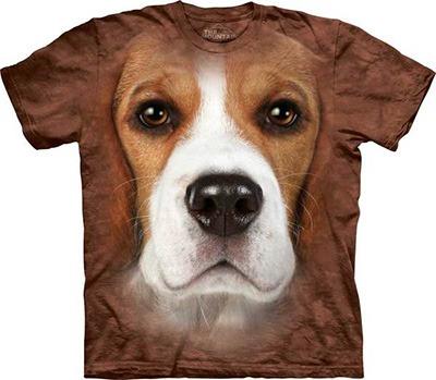 Camiseta 3D Beagle.
