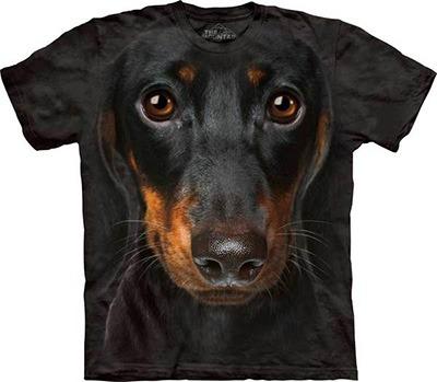 Camisetas 3D Linguicinha Daschund