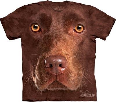 Camiseta Labrador Rosto Face