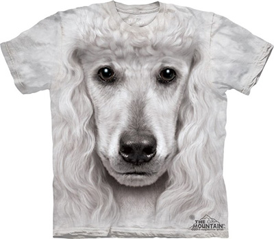 Camiseta rosto face poodle