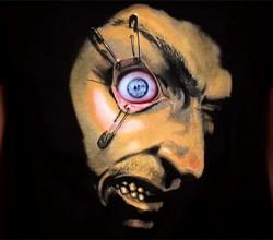 Camisetas com olhos que mexem estampas animadas