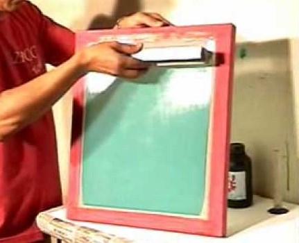 Efeitos da umidade na serigrafia (silk screen)