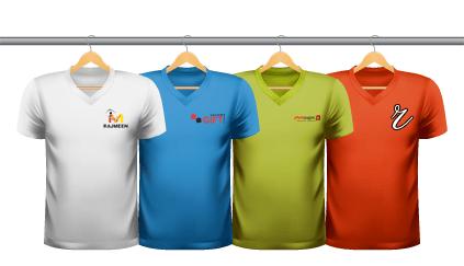 Contras das camisetas personalizadas