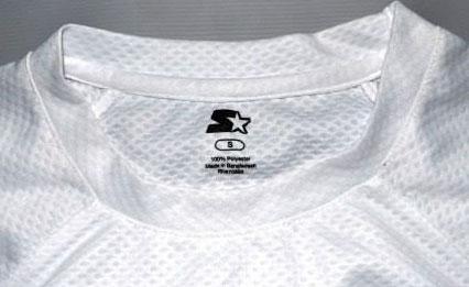 Camiseta em malha dry poliéster