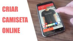 Aplicativo para Criar Camisetas Online