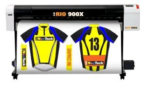 Impressora GO Rio 900X para sublimação.