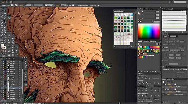 Illustrator é um programa para criar camisetas