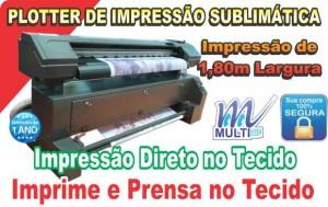 Impressora de sublimação térmica.