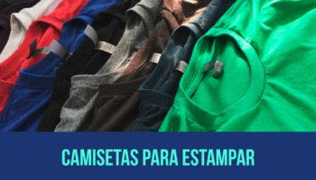 Camisetas para estampar - Onde encontrar as melhores na internet e atacado