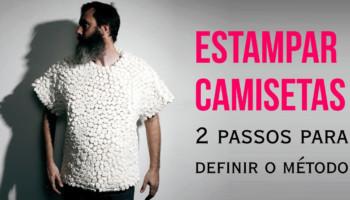 Estampar camisetas - qual o melhor método para sua arte?