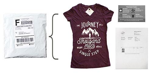 empresa que estampa camisetas pela internet