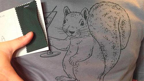 estampar camisetas de algodão ou de poliéster com serigrafia sublimação ou dtg