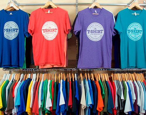 sua marca própria de camisetas