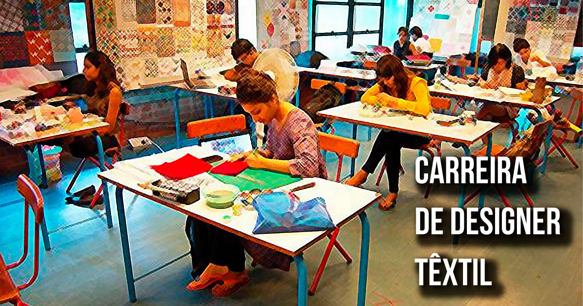 Carreira de designer têxtil - torne-se um profissional das estampas