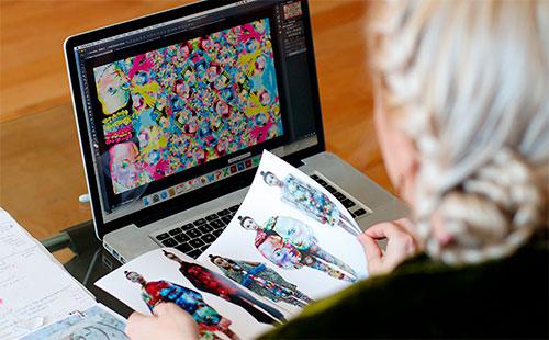 Como se tornar um designer têxtil