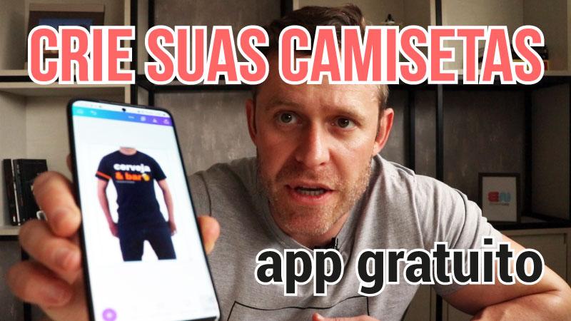 App grátis para criar camisetas estampadas