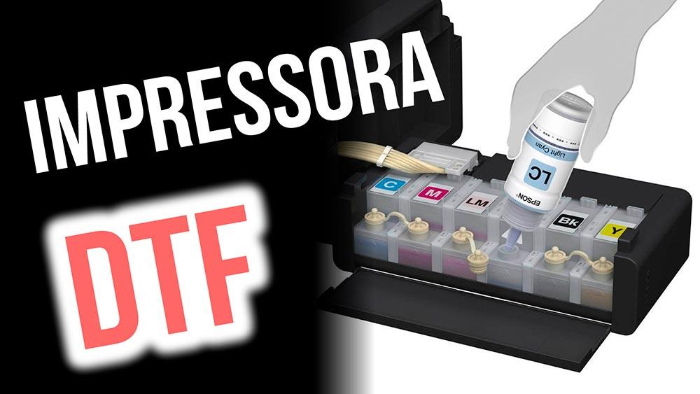 Impressora para DTF (estamparia digital para camisetas)